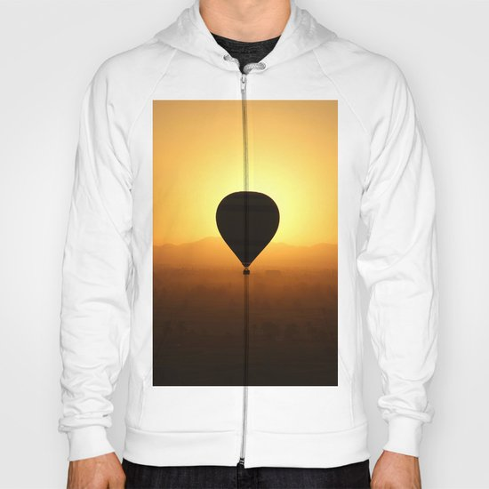 Balloon Over Valley of the Kings Hoody