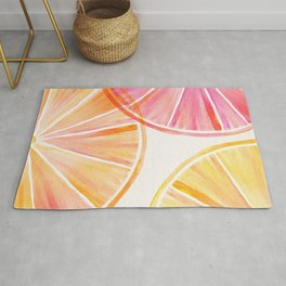 Summer Citrus Party Rug