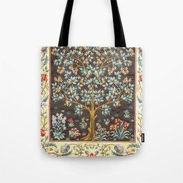 "William Morris ""Tree of life"" 1. Tote Bag"