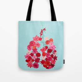 Simply Breathe - Lungs For Whitney Tote Bag