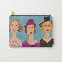 Les Dames Elégante - Elegant Women Carry-All Pouch