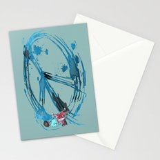 Peace Ain't Hard Stationery Cards