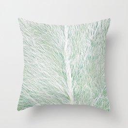 Furry Path Throw Pillow