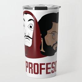 LA CASA DE PAPEL tee shirt El Peofesor Travel Mug