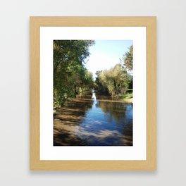 Copeland Creek 2 2012-11-28 Framed Art Print