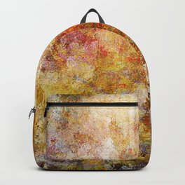 Mod Nature Trail Multicolor Pattern Backpack