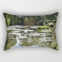Monet's Waterlilies Rectangular Pillow