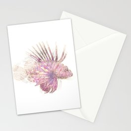 Lets draw a Lionfish Stationery Cards