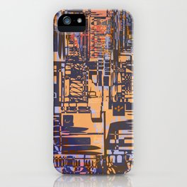 Where Are YOU -3 / Urban Density iPhone Case