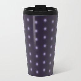 """Polka Dots Degraded & Purple shade of Grey"" Travel Mug"