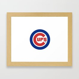 Chicago Cups Framed Art Print