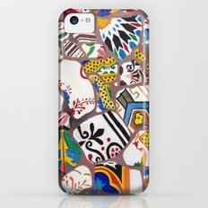 Gaudi tiles Barcelona iPhone 5c Slim Case