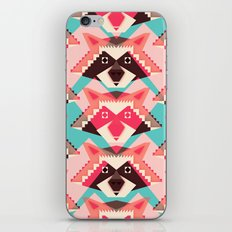 Raccoons and hearts iPhone & iPod Skin