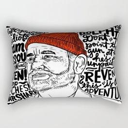 Steve Zissou Rectangular Pillow