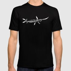 Swordfish Mens Fitted Tee MEDIUM Black