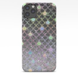 Mermaid scales ombre glitter #2 iPhone Case