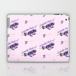 Lavender Fresh Pattern (powder pink) Laptop & iPad Skin
