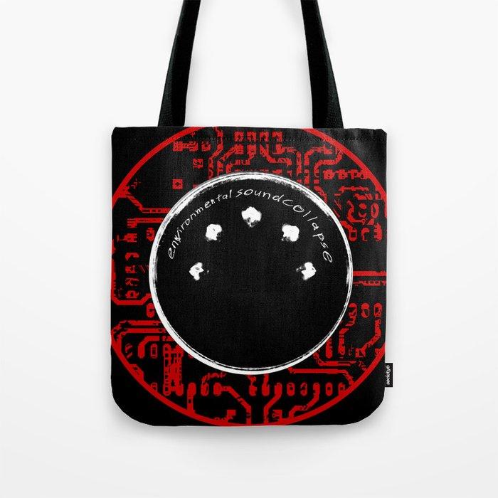 environmental sound collapse - MIDI/circuit board Tote Bag