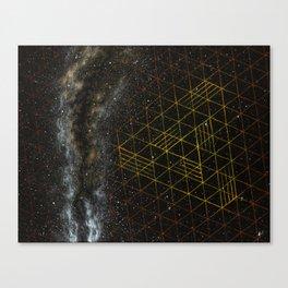 Galaxometry Canvas Print