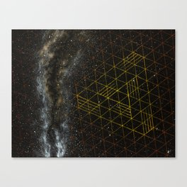 Galaxometry Canvas Print