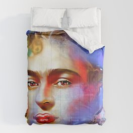 Frida Kahlo Painted Comforters