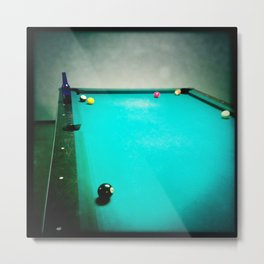 Pool Shark Metal Print