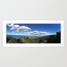 Bulli Lookout in Wollongong NSW Australia Art Print