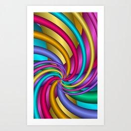 fractal geometry -107- Art Print