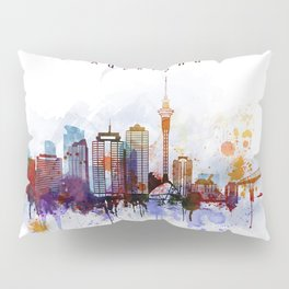 Auckland New Zealand Cityscape Pillow Sham