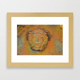Sicilian Bonze Goddess  Framed Art Print