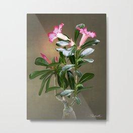 Spade's Desert Rose Metal Print