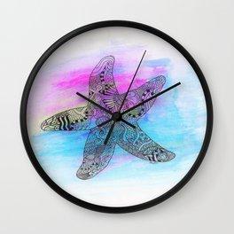 Summer Star Wall Clock