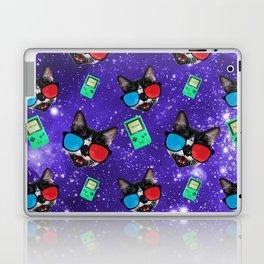 Nerdy Cat Laptop & iPad Skin