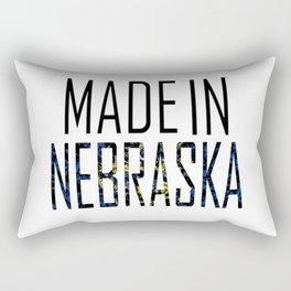 Made In Nebraska Rectangular Pillow