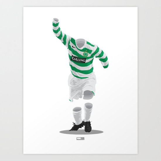 Celtic 2006/07  Art Print