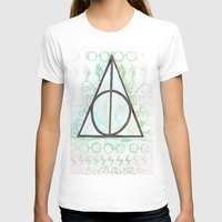 deathly hallows T-shirts featuring Deathly Hallows by Carmen McCormick