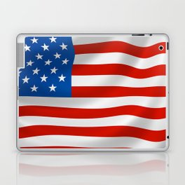 Classic Flag of the USA for Veterans Day Laptop & iPad Skin