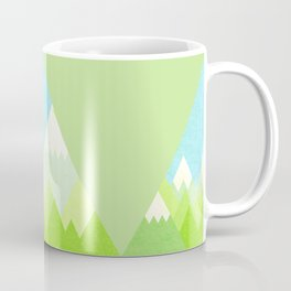 national park geometric pattern Coffee Mug