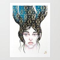 Mind Patterns I Art Print
