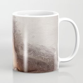 Naked Yoga on the Beach Coffee Mug