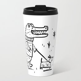 Croc Walk Travel Mug