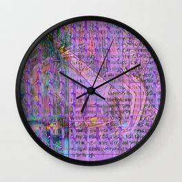 """""""Teenage Head"""" Again and Again [A Simple Constraint Series] Wall Clock"""