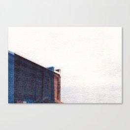 Double Building  Canvas Print