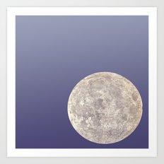 Moon Bounce Art Print
