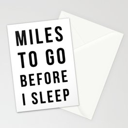 MONOFACES QUOTES Stationery Cards