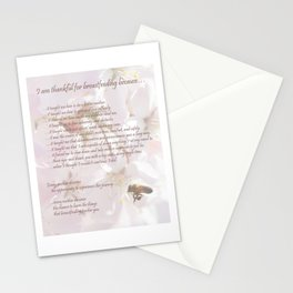 Breastfeeding Quote Print, Love Nursing Your Nursling, Breast Milk is the Best, The Flowers and Bees Stationery Cards