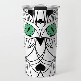 Art swirl ornament Travel Mug