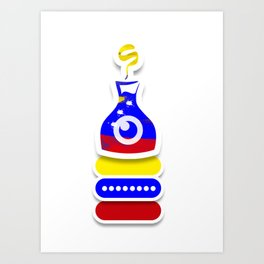 Venezuela the secret ingredient Art Print