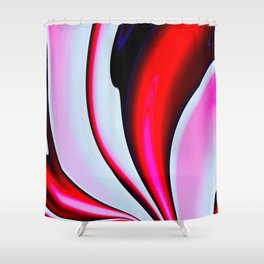 Abstract Fractal Colorways 02BPk Shower Curtain