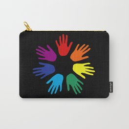 Rainbow hands Carry-All Pouch